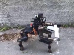 Робот-кентавр боротиметься з негодою
