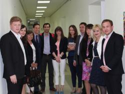 Представники Іспанського відомства на ознайомлювальній зустрічі в Центрі інноватики