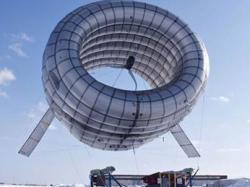 Надувний вітряк може забезпечити енергією дюжину будинків, при цьому енергія буде у 2 рази дешевшою, ніж від звичайних вітряків