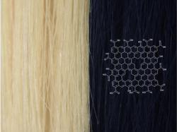 Американські вчені винайшли унікальну технологію фарбування волосся – за допомогою графену.