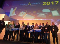 На конкурсе инженерных стартапов Vernadsky Challenge 2 млн грн разделили между 4 проектами