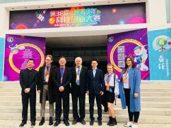 Наші учні перемогли в конкурсі наукових розробок у Китаї