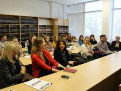 Встреча со студентами Киевского национального экономического университета им. Вадима Гетьмана
