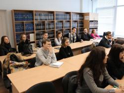 Інформаційна зустріч зі студентами вищих навчальних закладів міста Києва