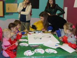 Майстер–клас з живопису та презентації на тему винахідництва, захисту авторського права для дітей та дорослих.