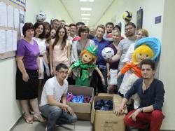 Акция для детей Городнянской специализированной школы-интерната